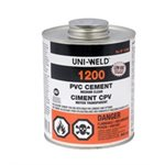 8 OZ SD 40 / 80 PVC CEMENT (1 / 2 PINT)