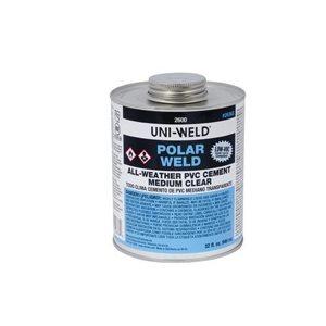 8 OZ PVC ALL-TEMP CEMENT (1 / 2 PINT)