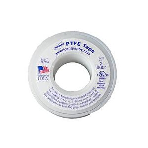 "TAPE - TEFLON - DOMESTIC - 1 / 2"" X 260"""