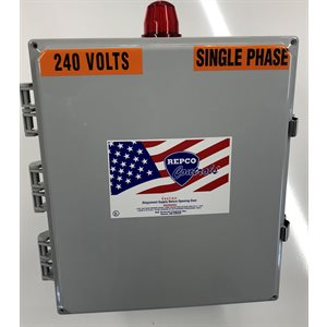 DUPLEX 230V 3 PHASE PANEL w / ALARM