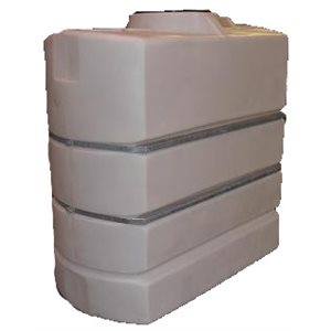 415 GAL CLOSED RECT POLY TANK